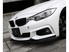 F32/33 and F36 Gran Coupe carbon full front splitter