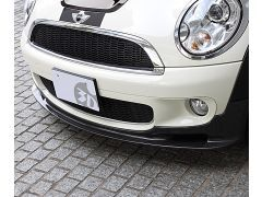 R55/R56 carbon front splitter for all Cooper'S models