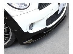 R55 and R56 Cooper'S front splitter