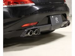 E89 Z4 carbon quad rear diffuser
