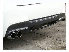 E90/91 2 piece carbon/black rear diffuser