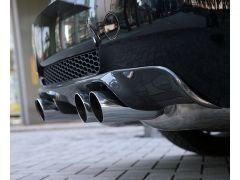 E90 M3 carbon rear diffuser