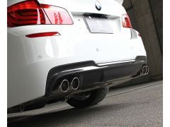 F10/11 carbon quad rear diffuser
