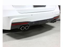 F30/31 3D Design carbon Quad rear diffuser