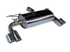 3D Design quad rear silencer for all F30, F31, F32, F33 and F36 GC 328i/428i models