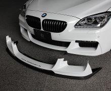 3D Design front splitter set for all F06, F12 and F13 M-Sport models