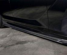 3D Design carbon side skirt splitters for all F06 Grand Coupe Models including M6