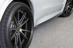 F15 X5 3D Design Sideskirt Extensions in Carbon Fibre