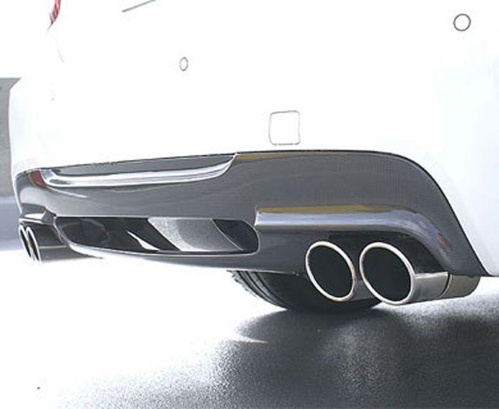 E90/91 quad 2 piece carbon rear diffuser