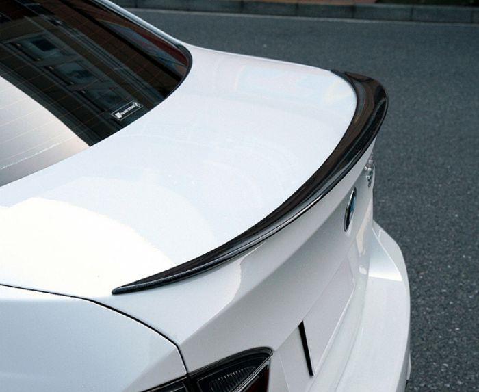 E90 Carbon boot spoiler