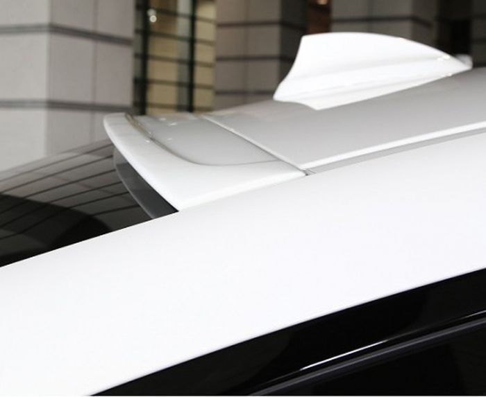 F36 roof spoiler paintable